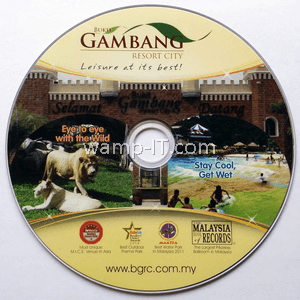 CD - Gambang Resorts BGRC