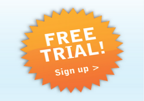 customer ticket free trial signup