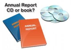 annual report - cd or book