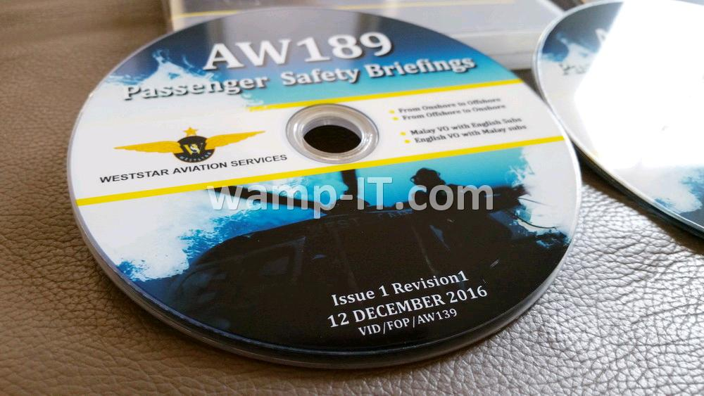 waterproof glossy inkjet printable recordable disc