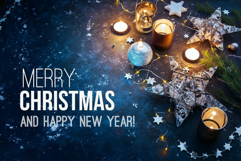 merry christmas 2016 and happy new year 2017