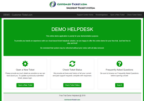 customer-ticket responsive web demo: portal thumbnail