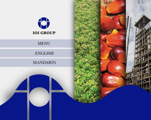 dvd menu corporate ioi group