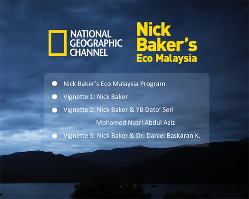 dvd menu national geographic channel nick baker eco malaysia