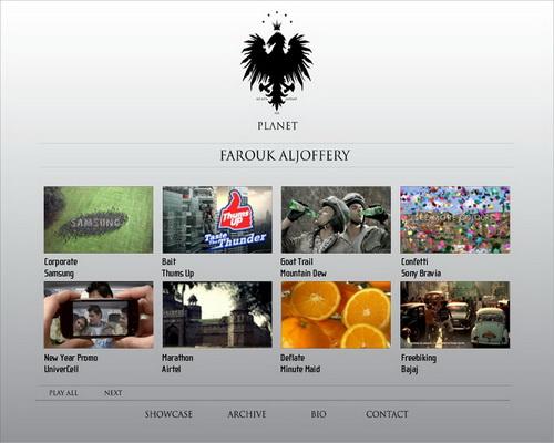 dvd menu showcase farouk aljoffery