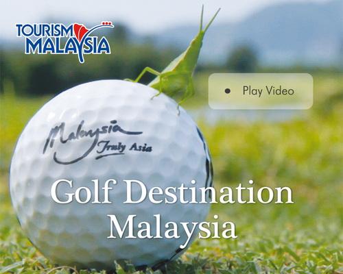 dvd menu tourism malaysia golf destination