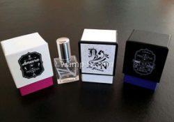 perfume bottle chipboard card box
