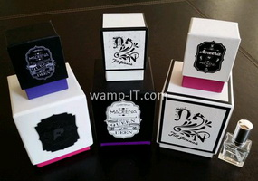 perfume bottle box printing