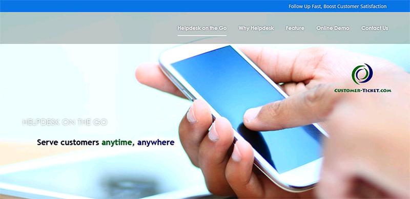 website revamp for customer-ticket.com