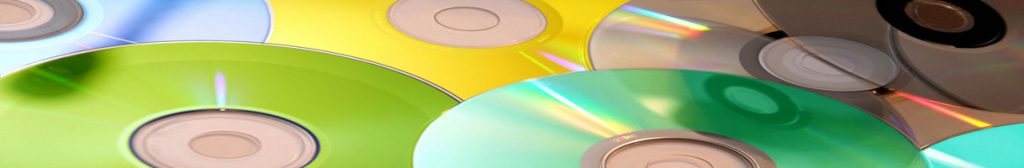 colored cd discs